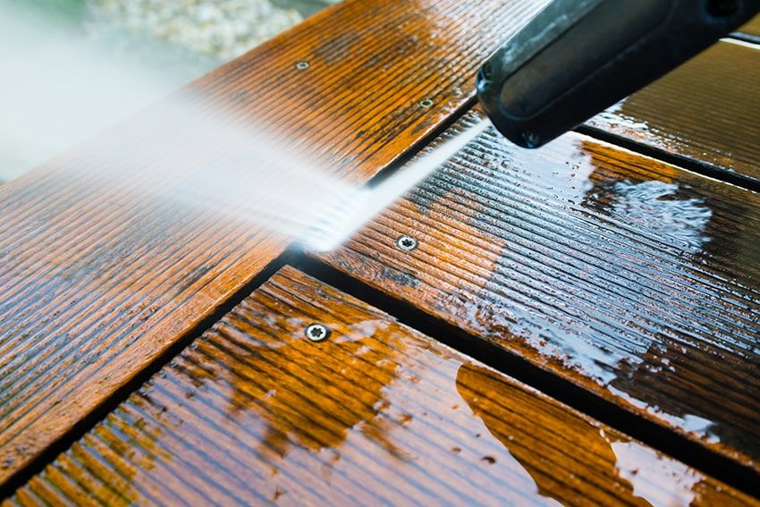 How to remove solid stain from wood deck solid stain