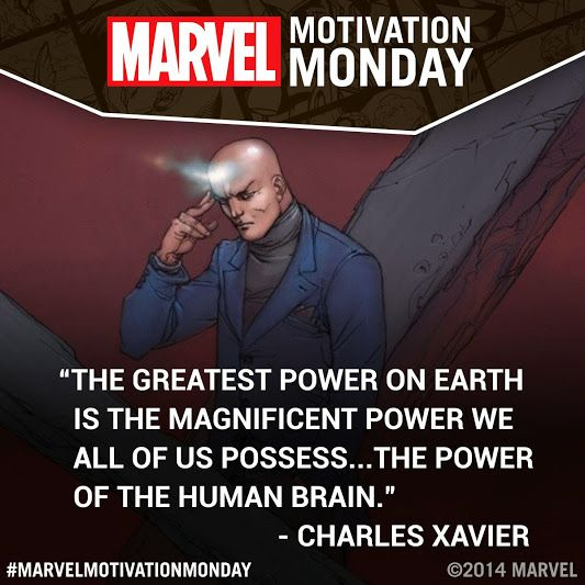 #MarvelMotivationMonday