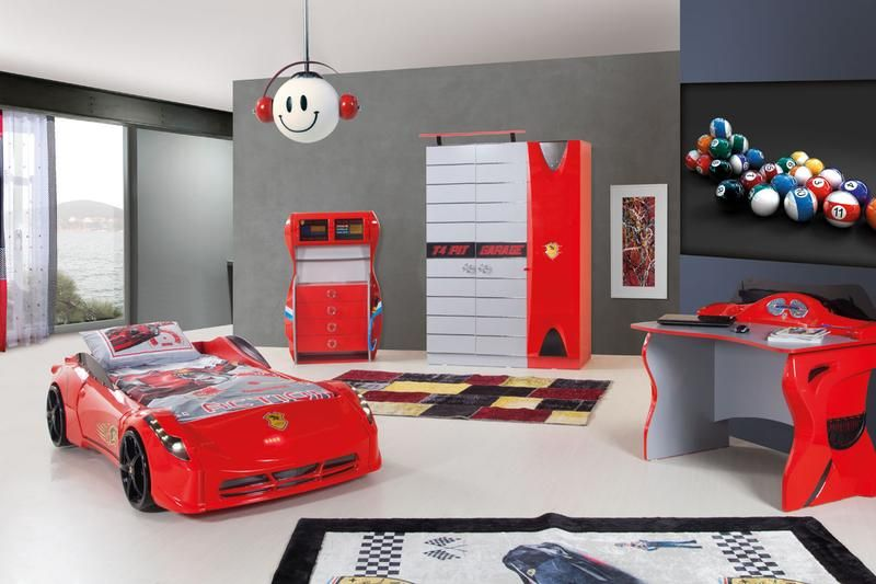 Best 17 Awesome Car Inspired Bed Designs For Boys Rilane 400 x 300