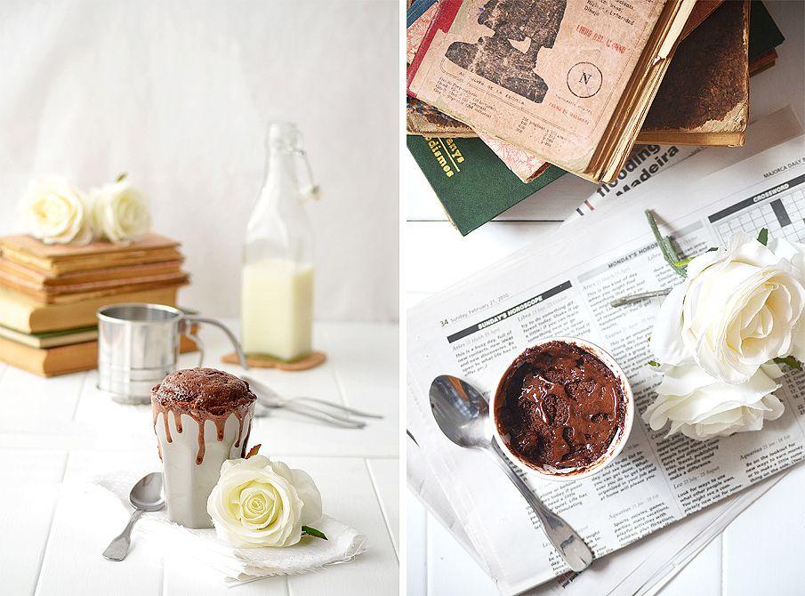 Mug cake de Nutella ®