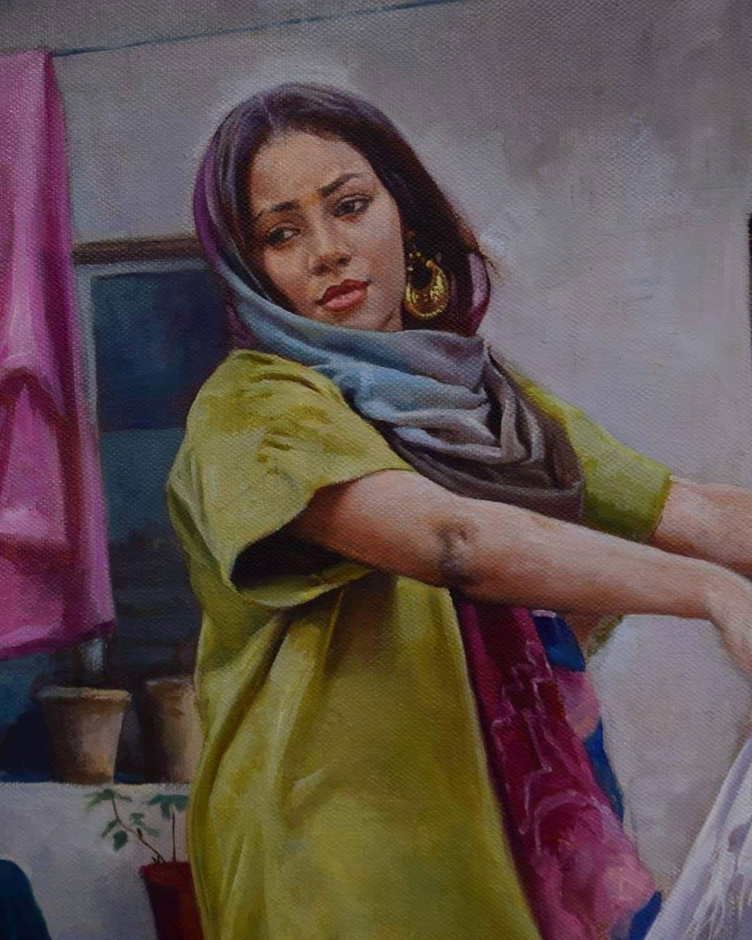 الفنان العراقي فاضل عباس Art Art Inspo Painting
