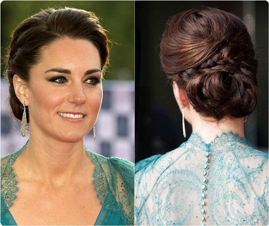 Make Up And Hairstyles Of Kate Middleton Duchess Of Cambridge