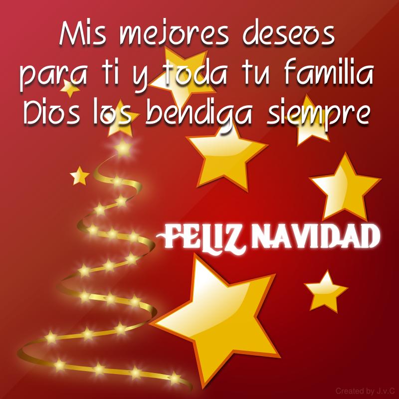 La navidad trae paz amor y treune a la familia as - Deseos para la navidad ...