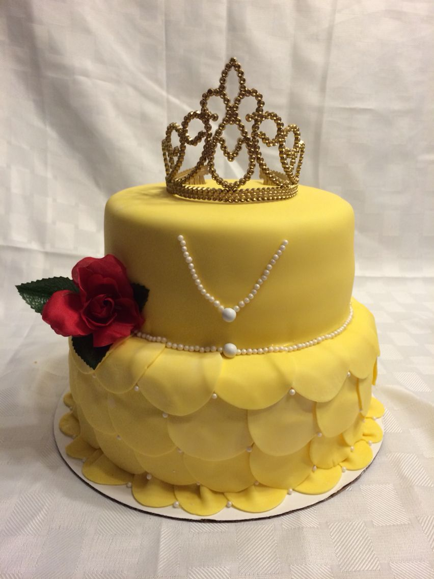 Beauty And The Beast Cake My Cakes Pinterest Beast