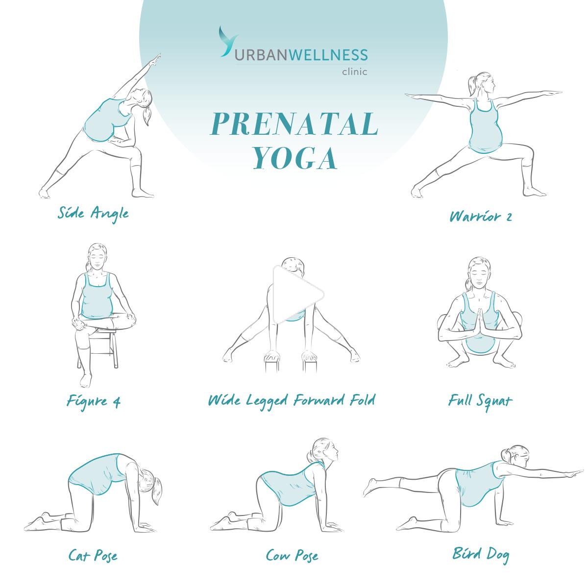 Pin on prenatal yoga