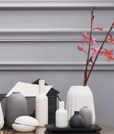 Kleine Glasvase   Grau   Home   H&M AT