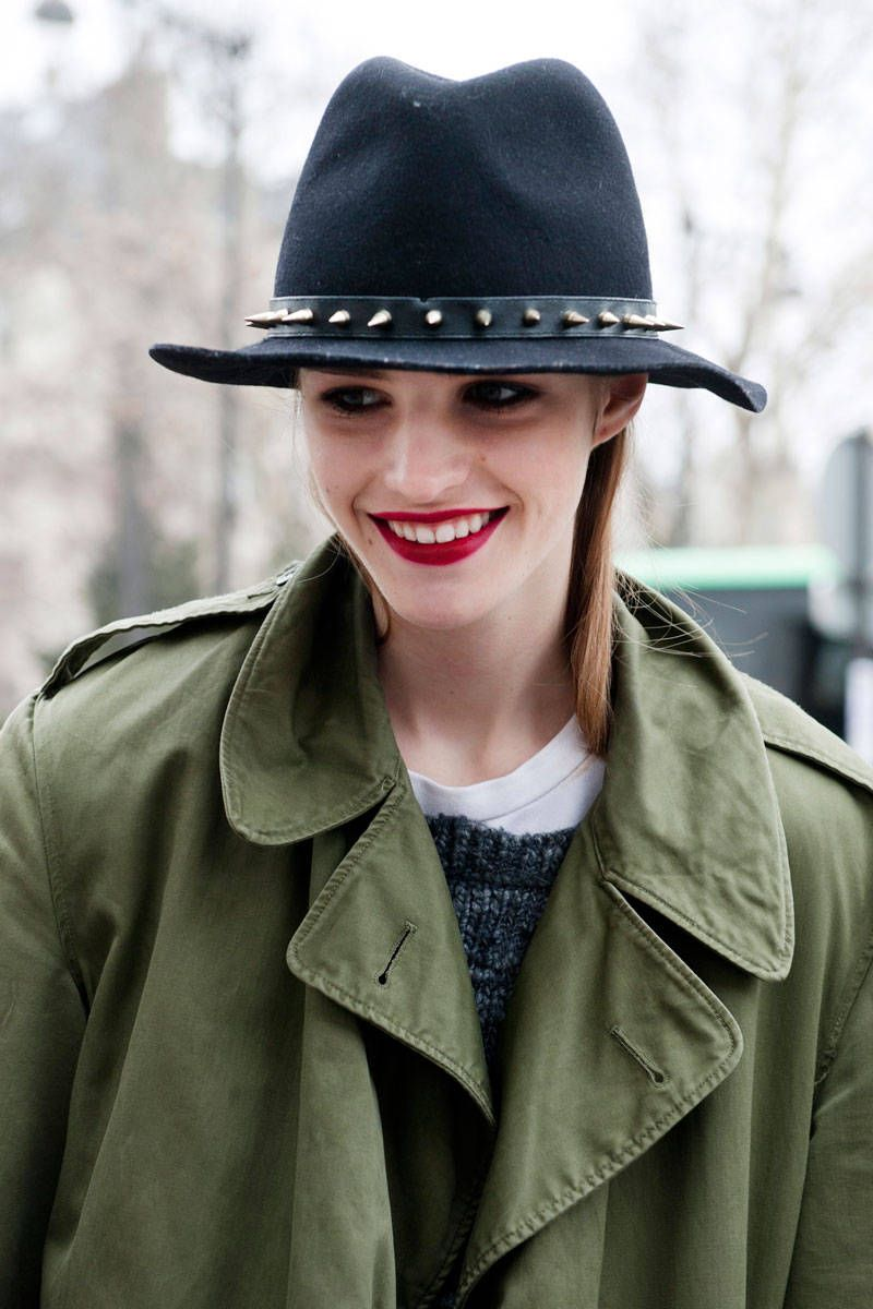 1c61c44871d Street Chic: Winter Hats | HATS | Winter hats, Hats, Hat hairstyles