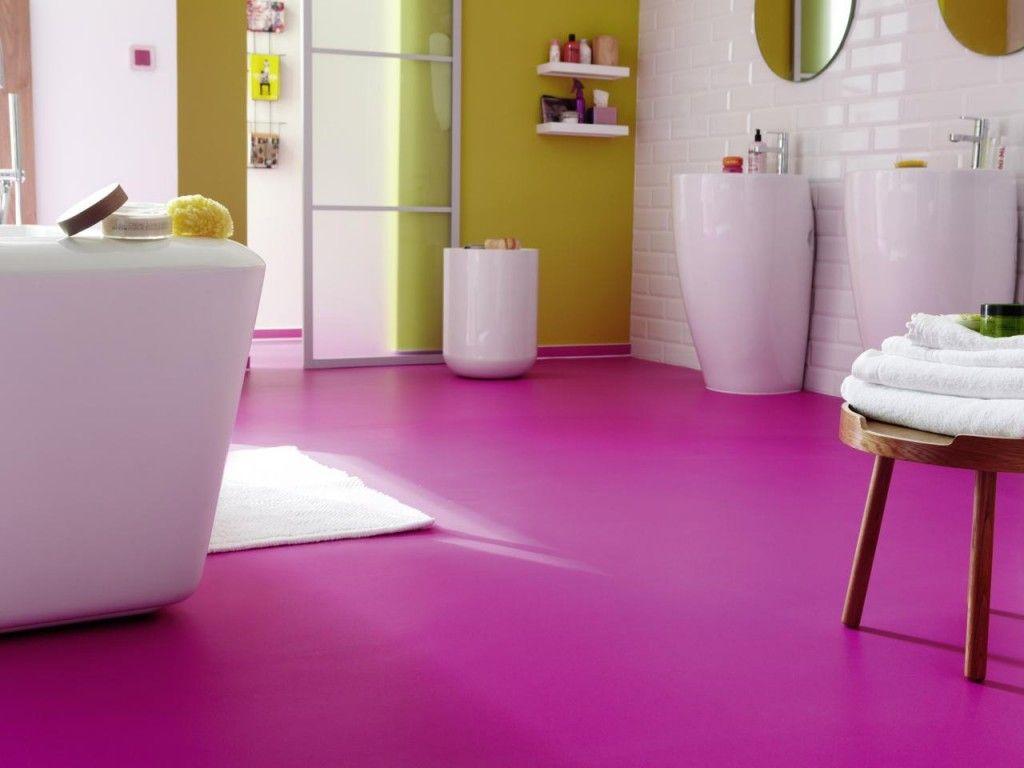 een vinyl vloer in de badkamer een feest voor je ogen en voeten