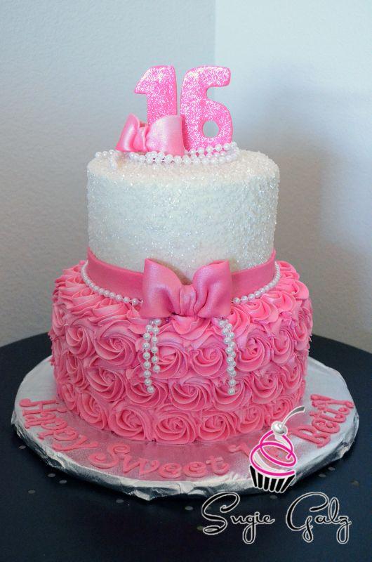 Sweet 16 Birthday Cakes Without Fondant MyDrLynx