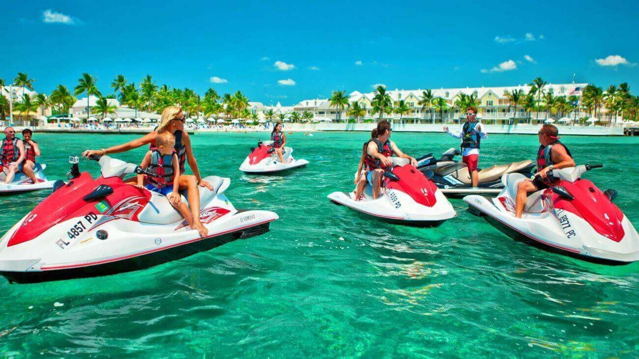 Image Of People On A Fury Jet Ski Tour Key West Snorkeling Ski Touring Travel Key West