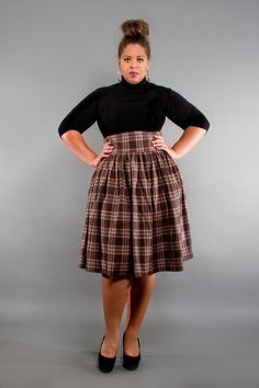 plus size high waisted skirt - Google Search | Fashion | Pinterest ...
