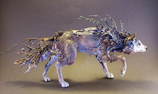 Surreal Animal Sculptures Blend Fantasy And Reality Canadian - Surreal animal plant sculptures ellen jewett