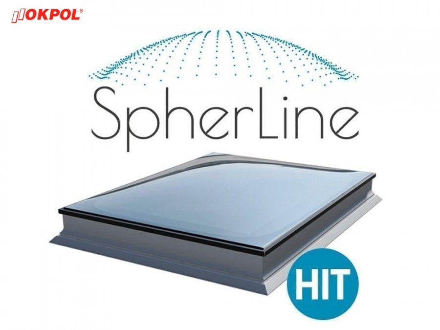 Flachdach Fenster Okpol Pgx B6 Spherline 60x60cm Festverglastes Uw 1 1 W M K 3 Fach Verglasung In 2020 Mit Bildern Flachdach Fenster Flachdach Dach