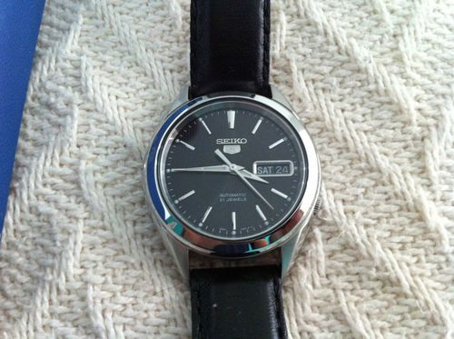 Seiko 5 Dress Watch Automatic 40 George Pinterest