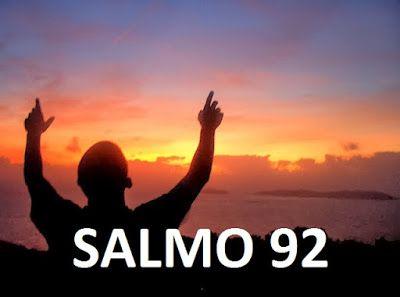 REFLEXÃO: SALMO DO DIA 28/09/2015 - SALMO 92