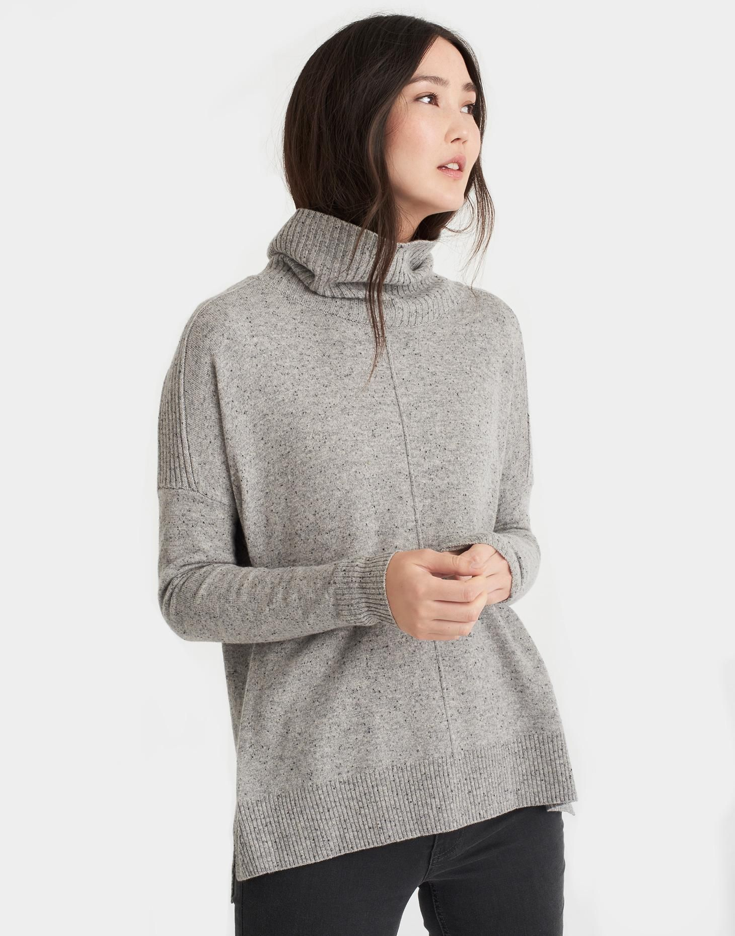 Rolanda Grey Turtle Neck Sweater | Joules US | clothing i covet ...