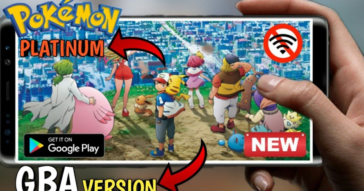 Download Pokemon Light Platinum Version For Android Gba Version Multi Gamer Pokemon Pokemon Light Gba