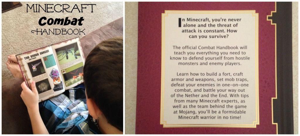 minecraft book combat handbook