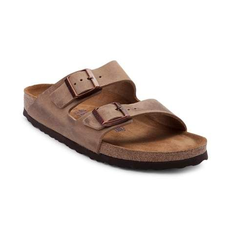 Fashion and function come together to bring you the Arizona Soft Footbed Sandal from Birkenstock. The classic and comfortable Arizona Soft Footbed Sandal flaunts iconic, double strap uppers, crafted with premium leather. The Soft Footbed design provides lightweight cushion with an extra layer of soft foam inserted between the cork midsole and suede liner for ultimate support and comfort.
