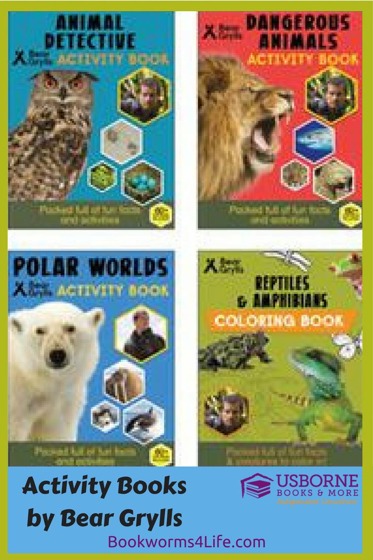 New Kids Adventure Series And Survival Skillls By Bear Grylls Kids Adventure Kids Activity Books Book Activities