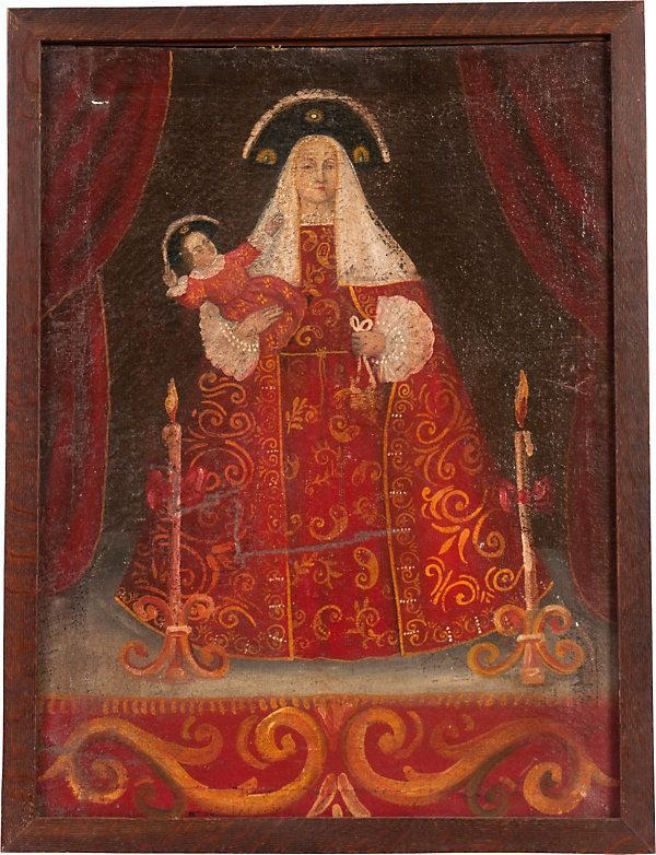 One Kings Lane - Haskell Antiques - 18th-C. Painting, Madonna