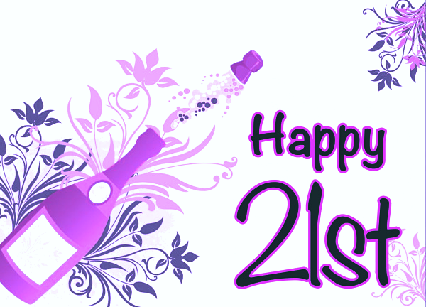Cute Happy 21st Birthday Wishes | Happy 21st birthday ...