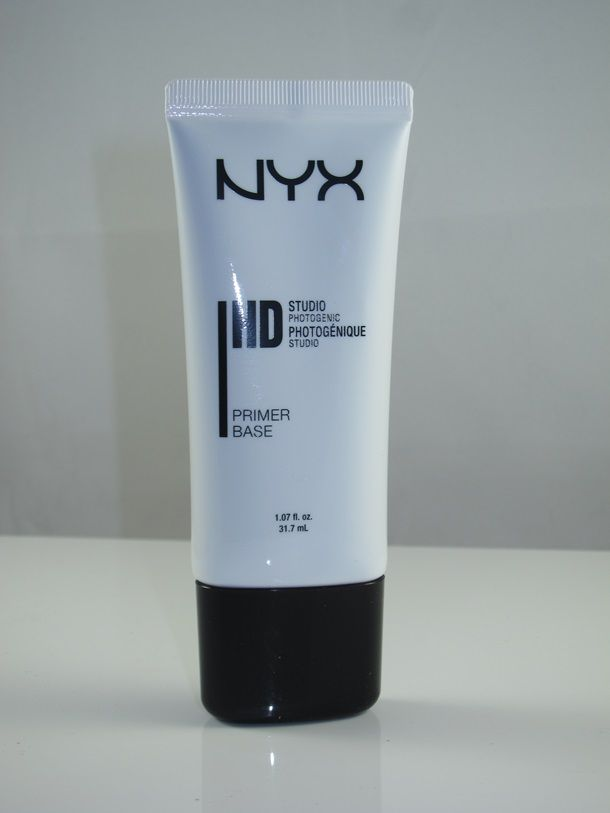 NYX HD Studio Photogenic Primer Base Review and Swatches