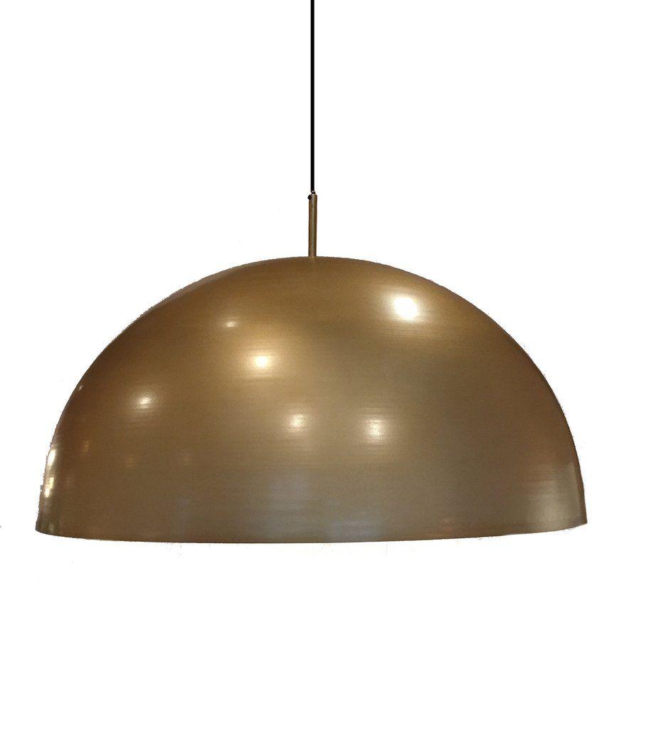 Brass dome pendant light pendant lighting lights and kitchens brass dome pendant light arubaitofo Choice Image