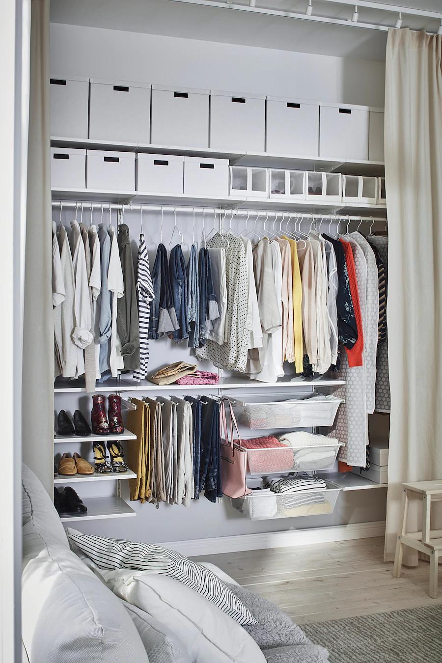 STAJLIG Kleiderbügel, innen/außen - weiß - IKEA Schweiz in 4