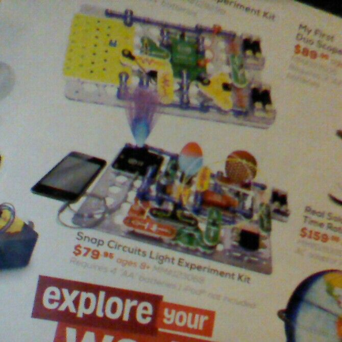 Snap Circuits Light Experiment Kit - Mastermind #giftgrant #giftmark