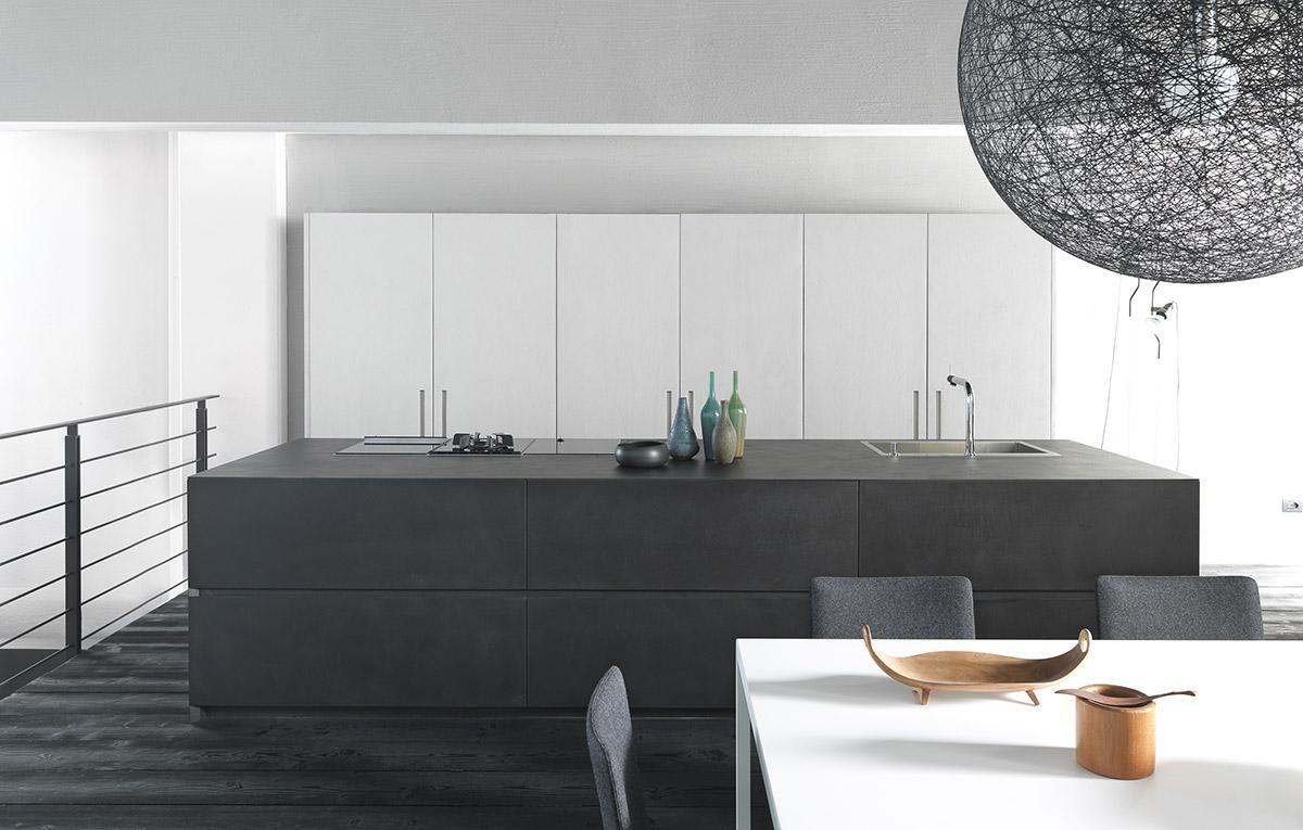 Resin Kitchen Floor Modulnova Srl House Kitchen Pinterest Modern Kitchens