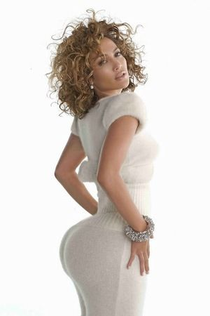 Jennifer Lopez Huge Ass In White Dress Pin Your Booty