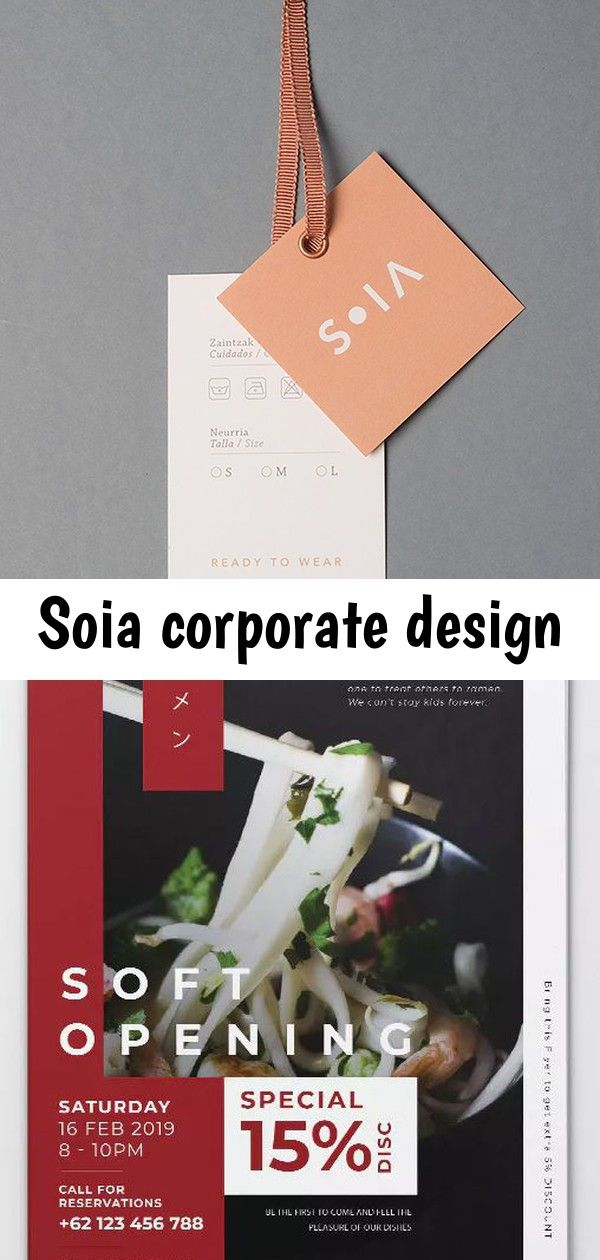 Soia corporate design SOIA Corporate Design - Mindsparkle Mag Graphic design, packaging tag, branding, logo inspiration for creative entrepreneurs, graphic designers. Elegant Soft Opening Restaurant AI and PSD Flyer Template. Download Free Minimalist Circular Sign Board Mockup in PSD Wall PSD Free Mockup Sticker