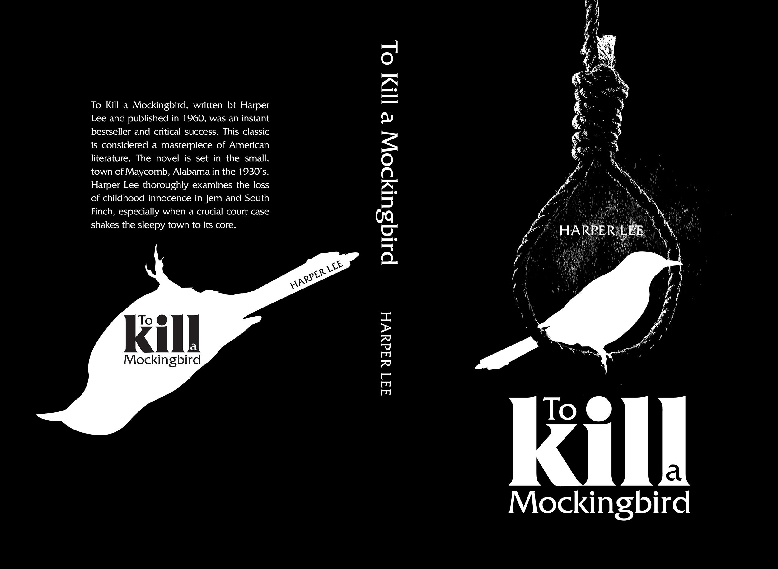 Modern American Book Cover Design : To kill a mocking bird book covers