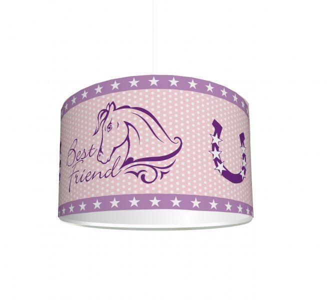 """Kinderzimmer Lampenschirm """"Pferde"""" KL66 Lampenschirm"""