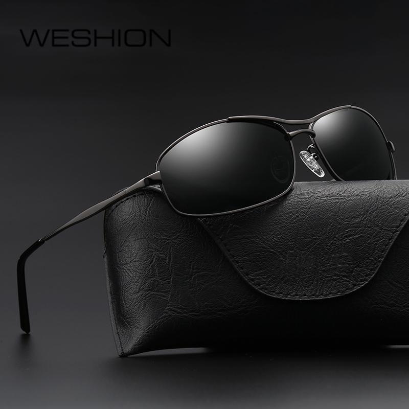 WESHION Sunglasses Men Women Polarized Oculos Small Size