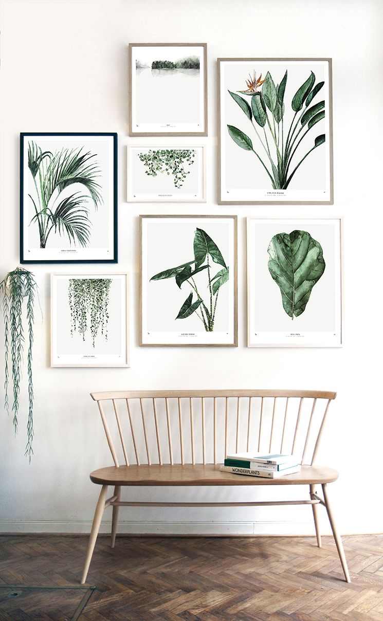 Art Decoration Magazine English Bring The Outdoors Indoors Great Botanical Prints For Your Home Via