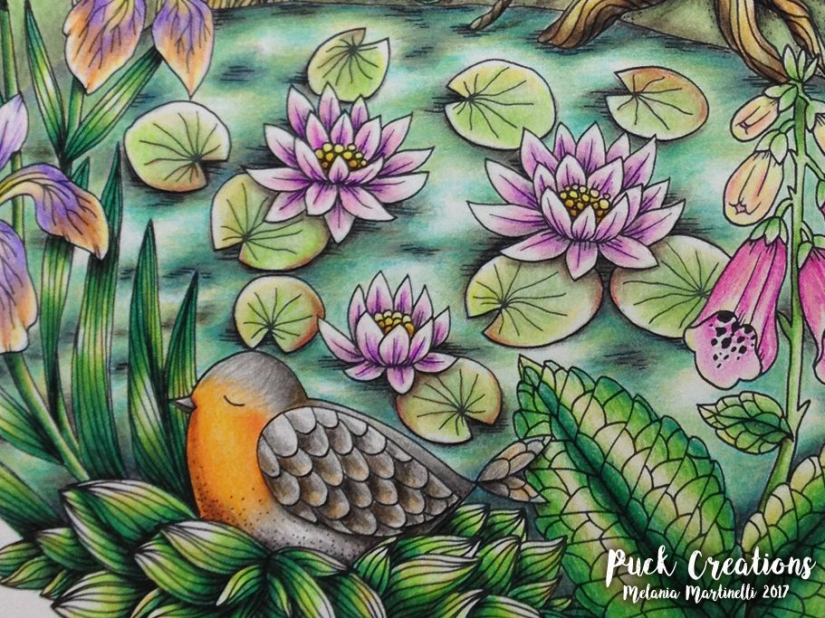 Twilight Garden By Maria Trolle Coloring Book Blomstermandala Inspired Chris Chengs Video