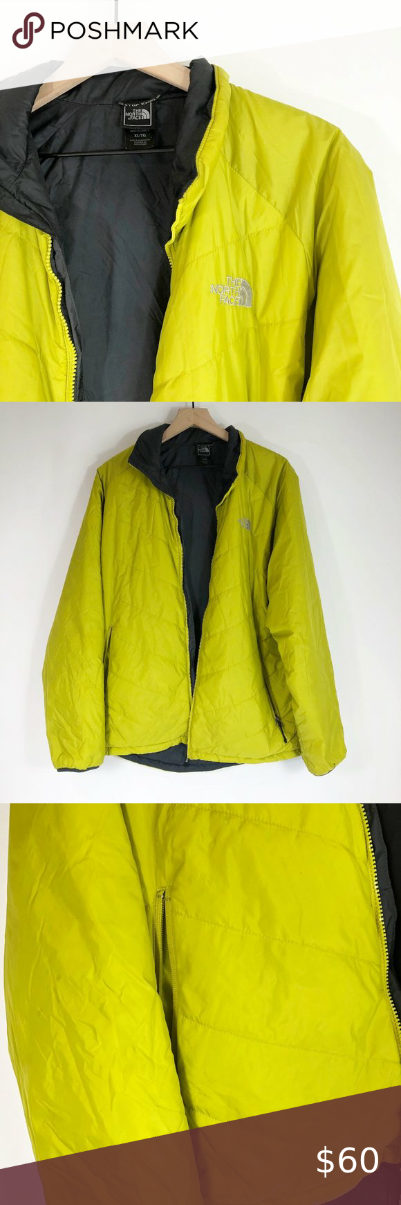 The North Face Insulated Lime Green Jacket Xl Green Jacket North Face Jacket Jackets [ 1740 x 580 Pixel ]