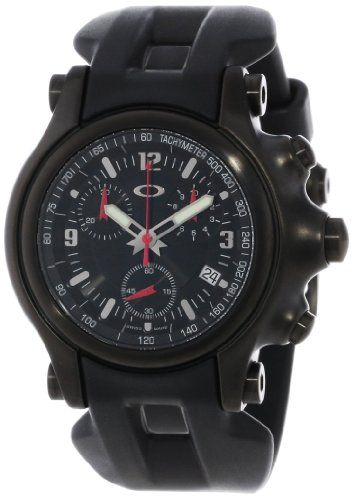 445f4ad7736 Men s Wrist Watches - Oakley Mens 10228 Holeshot Stealth Unobtainium  Limited Edition Chronograph Rubber Watch    More info could be found at the  image url.