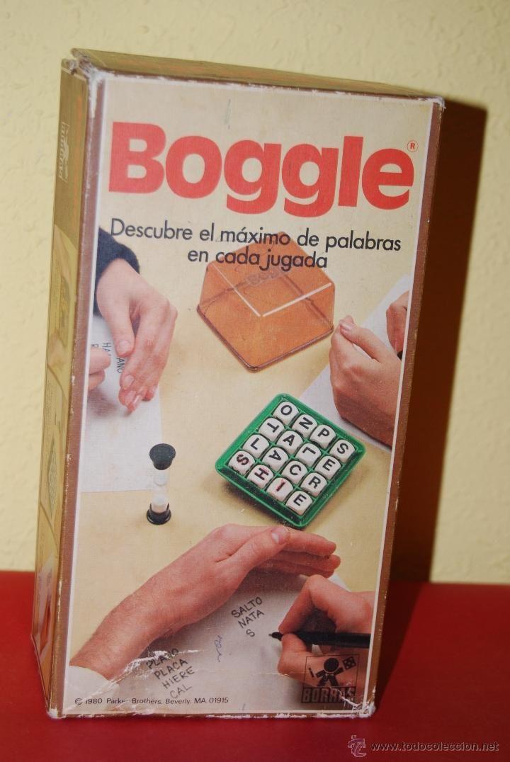 Juego De Mesa Boggle Borras Anos 80 Juguetes Juegos