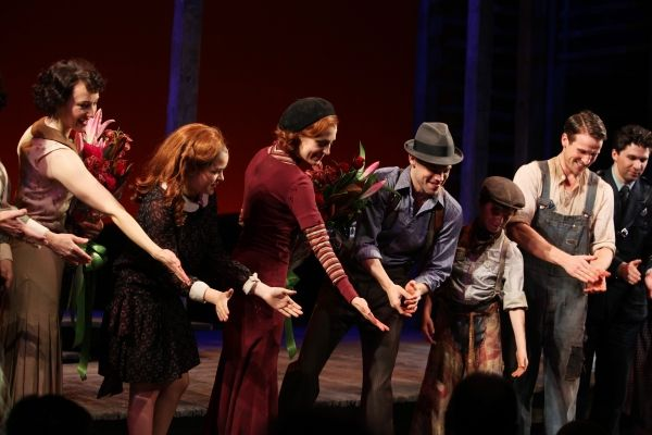 Photo Coverage Bonnie Clyde Opening Night Curtain Call Bonnie