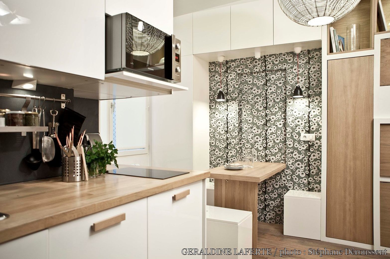 Studio Kitchen For Small Spaces Studio Duhesme 17m2 Gacraldine Lafertac Catac Maison Projets