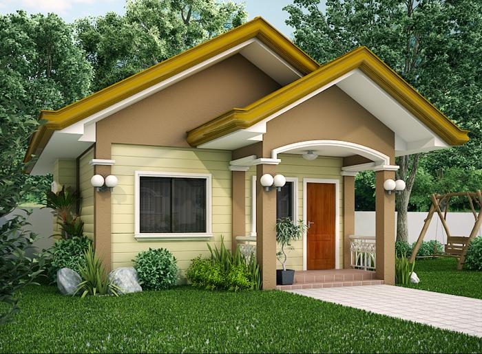 Small House Design 2012001 Pinoy Eplans Beautiful Small Homes Bungalow House Design Small House Architecture