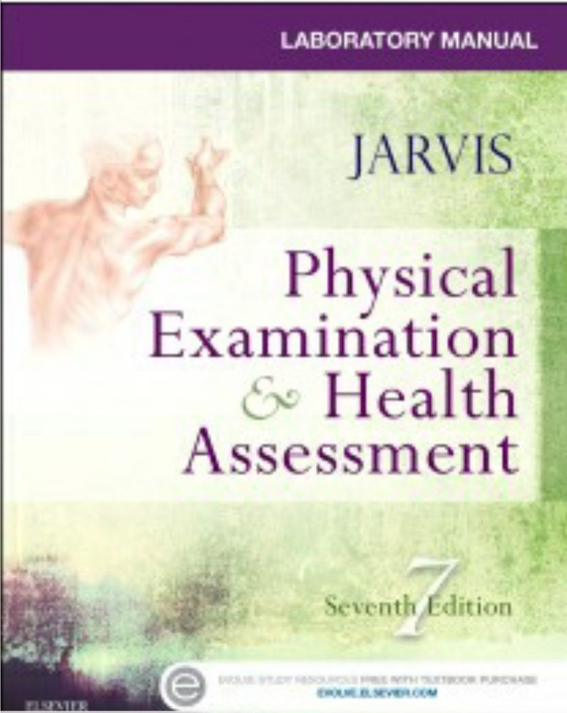 Jarvis Physical Examination And Health Assessment 7th Edition Pdf