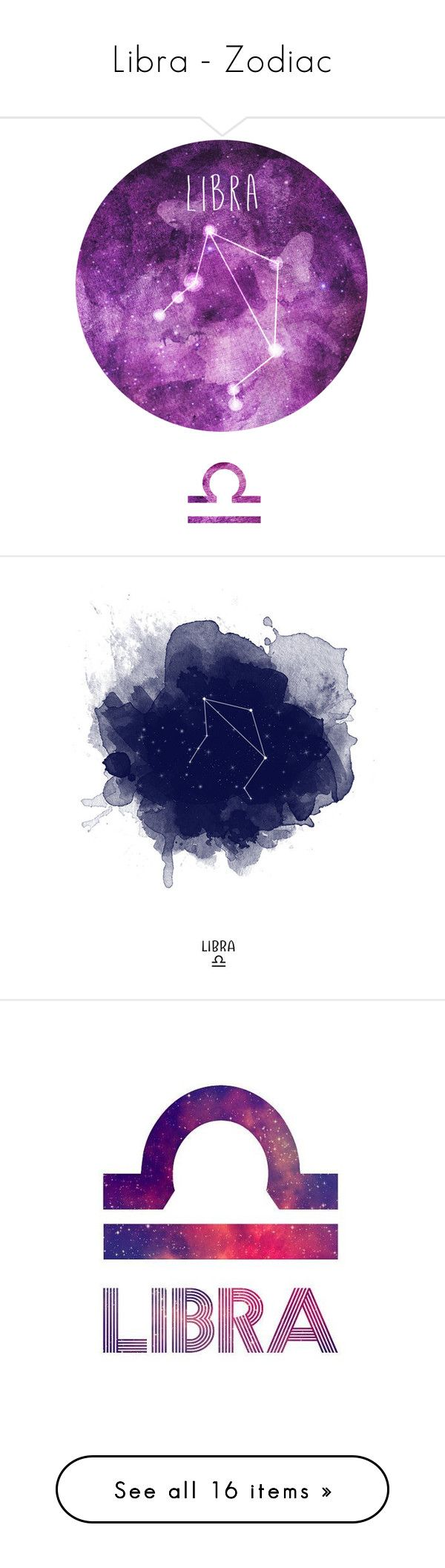 Libra Zodiac By Megiem Liked On Polyvore Featuring Home Decor