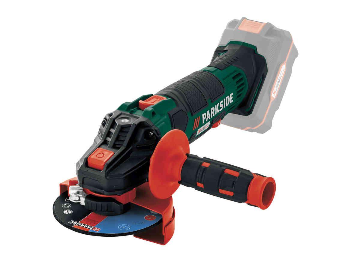 polizor unghiular, fără fir | parkside® - tools & power tools