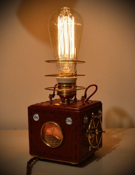 Pin On Steampunk Lamps