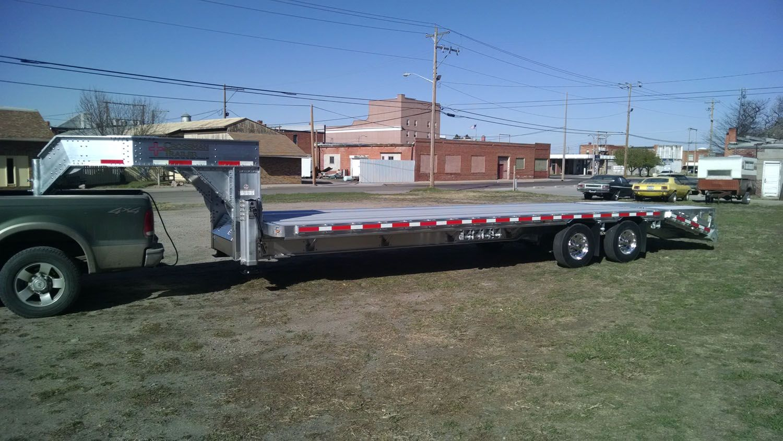 hight resolution of crossman trailer gooseneck aluminum flatbed