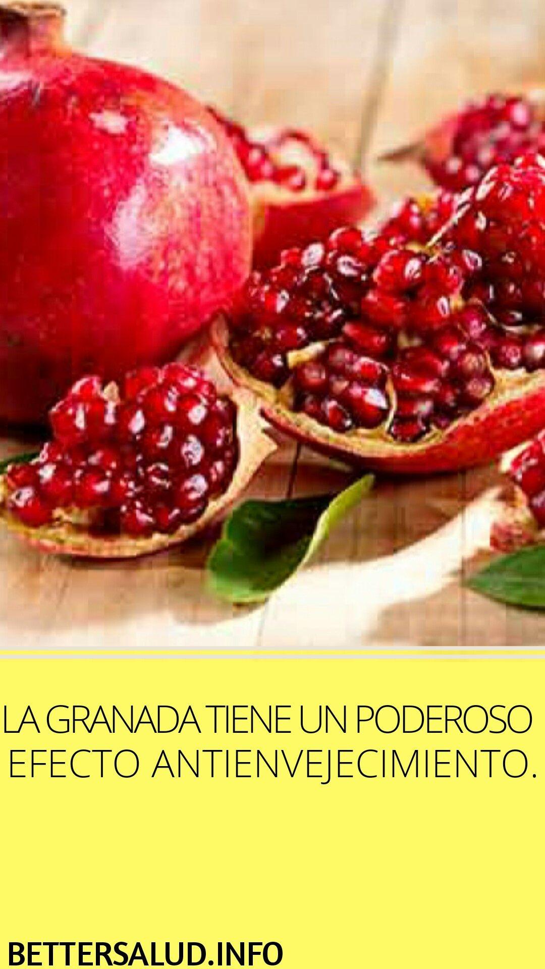 La Granada Tiene Un Poderoso Efecto Antienvejecimiento